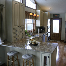 Farmhouse Kitchen Cabinetry by Finewoodworks