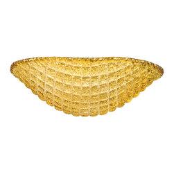 Kichler - Kichler 340108AMB Universal Bowl Glass - Kichler 340108AMB Universal Bowl Glass