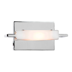 Access Lighting - Access Lighting 62251-CH/OPL Styx Chrome Wall Sconce - Access Lighting 62251-CH/OPL Styx Chrome Wall Sconce