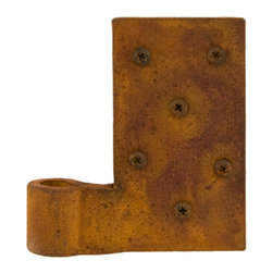 Hand Forged Iron Shutter Hinges - Create an authentic look and customize your shutters with these shutter hinges. Made of hand-forged iron.