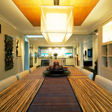 Contemporary Dining Room by TOC design