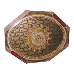 uDecor - BRRB-1722-S016 Michelangelo Medallion - Michelangelo Ornate Medallions