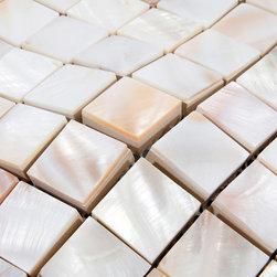 8mm Mother of pearl tiles kitchen backsplash PEM0034 - Collection: Mother of Pearl Tile