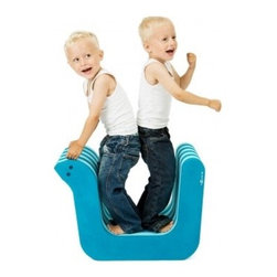bObles - bObles Tumbling Snake Table - The Snake can function as a table, and be used together with the other tumbling animals in an obstacle course. It can be turned upside down and used as a boat.