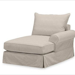 "PB Comfort Roll Arm SectionalRight Arm Chaise Knife-EdgeWashed Linen-CottonStone - Designed exclusively for our versatile PB Comfort Sectional Components, these soft, inviting slipcovers retain their smooth fit and remove easily for cleaning. Left Armchair with Box Cushions is shown. Select ""Living Room"" in our {{link path='http://potterybarn.icovia.com/icovia.aspx' class='popup' width='900' height='700'}}Room Planner{{/link}} to select a configuration that's ideal for your space. This item can also be customized with your choice of over {{link path='pages/popups/fab_leather_popup.html' class='popup' width='720' height='800'}}80 custom fabrics and colors{{/link}}. For details and pricing on custom fabrics, please call us at 1.800.840.3658 or click Live Help. Fabrics are hand selected for softness, quality and durability. All slipcover fabrics are hand selected for softness, quality and durability. {{link path='pages/popups/sectionalsheet.html' class='popup' width='720' height='800'}}Left-arm or right-arm{{/link}} is determined by the location of the arm as you face the piece. This is a special-order item and ships directly from the manufacturer. To see fabrics available for Quick Ship and to view our order and return policy, click on the Shipping Info tab above. Watch a video about our exclusive {{link path='/stylehouse/videos/videos/pbq_v36_rel.html?cm_sp=Video_PIP-_-PBQUALITY-_-SUTTER_STREET' class='popup' width='950' height='300'}}North Carolina Furniture Workshop{{/link}}."