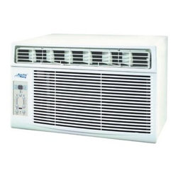 Midea - Midea 12K BTU Energy Star Window Air Conditioner - 12 000 BTU 115V Room air conditioner with slide out chassis for easy installation and electronic controls with remote. This item cannot be shipped to APO/FPO addresses. Please accept our apologies.