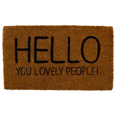 Contemporary Doormats by Hunkydory Home