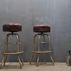 traditional bar stools and counter stools by Modern50 Artist Collective & Atelier