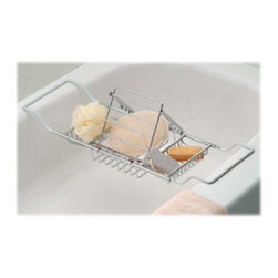 Taymor - Taymor Spa Bathtub Caddy Gift Set - Spa Bathtub Caddy Gift Set by Taymor