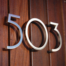 Modern House Numbers by Atlas Homewares