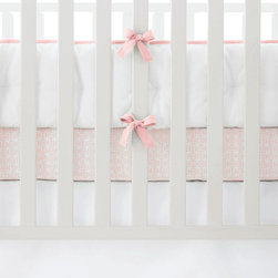 "Serena & Lily - Serena & Lily Nursery Basics Crib Bumper - The perfect backdrop for color and pattern, our versatile white-on-white crib bedding works with everything. Mix it up with our fabulous prints, or go all-white for a look that's crisp, clean and serene. One-piece, hand-tufted white crib bumper, with contrast piping and twill-tape ties. White bumper has white piping and twill-tape ties. 100% cotton twill. Machine wash. Imported. Insert is not removable. 156""L x 11. 5""H overall."