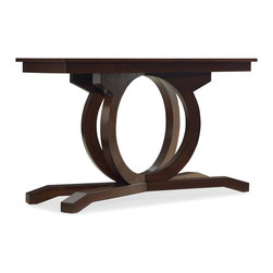 Hooker Furniture - Kinsey Sofa Table - White glove, in-home delivery!  For this item, additional shipping fee will apply.  The Kinsey Sofa Table has alluring accents that showcase your style.