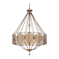 Murray Feiss - Murray Feiss F2603/4BRB/OBZ Marcella 4 Bulb British Bronze / Oxidized Bronze Cha - Murray Feiss F2603/4BRB/OBZ Marcella 4 Bulb British Bronze / Oxidized Bronze Chandelier