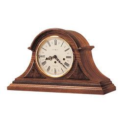 Howard Miller - Howard Miller Chiming Key Wound Oak Mantel Clock   WORTHINGTON - 613102 WORTHINGTON