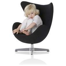 Contemporary Furniture The Yolk Chair by Little Nest