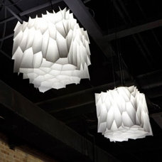 Eclectic Pendant Lighting by Noiz Architects