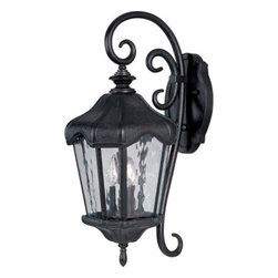 Maxim Lighting - Maxim Lighting 40274WGOB Garden VX 3-Light Outdoor Wall Lantern - Features