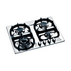 "Bertazzoni 24"" Modular Series Gas Cooktop, Stainless Steel 