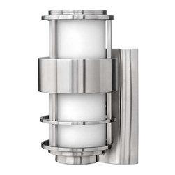 Hinkley Lighting - Hinkley Lighting 1900SS-GU24 Saturn Stainless Steel Outdoor Sconce - Hinkley Lighting 1900SS-GU24 Saturn Stainless Steel Outdoor Sconce