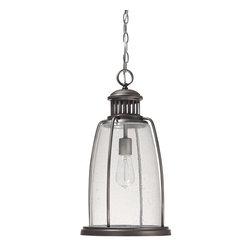 Capital Lighting - Capital Lighting 9636GR Harbour 1 Light Outdoor Pendant - Number of Bulbs: 1