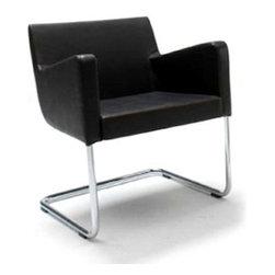B&T Design - Cosy Armchair, Oslo Turquoise - 95744b - Cosy Armchair