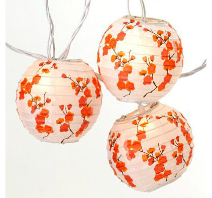 Asian Outdoor Rope And String Lights by Cost Plus World Market