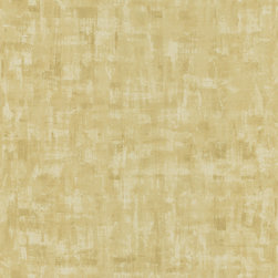 Brewster - Brewster Olive Texture Pre-pasted Wallpaper - This Brewster wallpaper features a  lovely shade of soft olive. This wallpaper is prepasted for easy application.