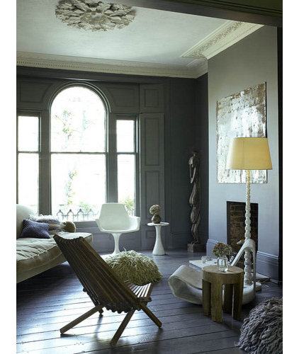 Eclectic  Abigail Ahern's living room