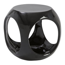 Eurostyle - Eurostyle Sacha Stool in Black - Eurostyle - Accent Chairs - 25858BLK - Finished in high gloss black, the Sacha Stool will transform any space instantly with its elegant, modern design. No matter you have a growing guest list or simply enjoys to have fun with your furniture, this is the stool for you. Start recharging your creative energy and release the magician within.