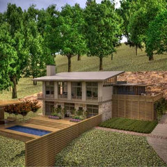 modern rendering by BUILDING IDEAS / David Baird Architect
