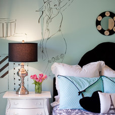 Eclectic Bedroom by Emerald Hill Interiors
