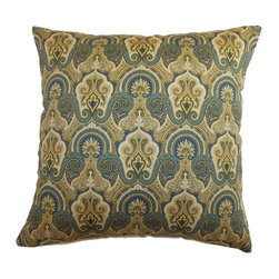Pillow Collection - The Pillow Collection Hagfors Paisley Pillow - Blue - P18-42144-ATLANTIC-C95L5 - Shop for Pillows from Hayneedle.com! Sometimes getting a little blue can perk up an entire design like with The Pillow Collection Hagfors Paisley Pillow - Blue. Made of 95% cotton and 5% linen this elegant square pillow features a plush 95/5 feather/down insert for a luxurious softness. The delicate look and serene colors of the traditional paisley pattern make this pillow a gorgeous addition to any room.About The Pillow CollectionIdentical twin brothers Adam and Kyle started The Pillow Collection with a simple objective. They wanted to create an extensive selection of beautiful and affordable throw pillows. Their father is a renowned interior designer and they developed a deep appreciation of style from him. They hand select all fabrics to find the perfect cottons linens damasks and silks in a variety of colors patterns and designs. Standard features include hidden full-length zippers and luxurious high polyester fiber or down blended inserts. At The Pillow Collection they know that a throw pillow makes a room.