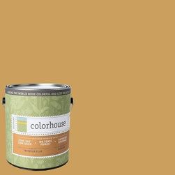 Inspired Flat Interior Paint, Grain .06, Gallon - Colorhouse paints are zero VOC, low-odor, Green Wise Gold certified and have superior coverage and durability. Our artist-crafted colors are designed to be easy backdrops for living. Colorhouse paints are 100% acrylic with no VOCs (volatile organic compounds), no toxic fumes/HAPs-free, no reproductive toxins, and no chemical solvents.