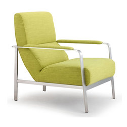 Zuo Modern - Zuo Modern Jonkoping Arm Chair Lime - Arm Chair Lime belongs to Jonkoping Collection by Zuo Modern Arm Chair (1)