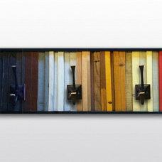 Modern Wall Hooks by Scrap Wood Designs