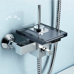 JollyHome - JollyHome Good Quality Wall Mounted Shower Faucets - Complete parts and all install fittings are included.Water pressure tested for industry standard.Easy to keep clean and maintain.Ceramic valve core
