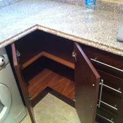 kitchen cabinets by Corner Fine Finishing