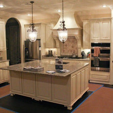 Traditional Kitchen Cabinetry by Grabince Custom Divisions