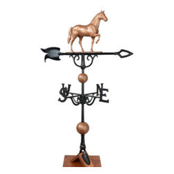 "Whitehall Products LLC - 46"" Horse Weathervane - Copper - Features:"