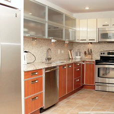 Modern Kitchen Cabinets by Gene Sokol / Euroluxe Interiors