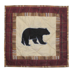 Patch Quilts - Patch Magic Pinecone Trail Toss Pillow 16 x 16-Inch - - Decorative applique Quilted Pillow,Bed and Home,Ensembles and Bedding items from Patch Magic. Machine washable. Line or Flat dry only  - Finish/Color: Multiple Color  - Product Depth: 16  - Product Width: 16  - Product Height: 16  - Material: 100% Cotton Fabric Patch Quilts - TPPNTL