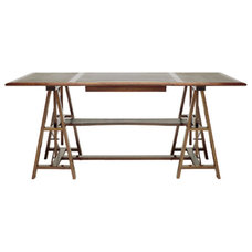 Traditional Desks And Hutches by heleneaumont.com