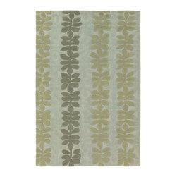 Chandra Rugs - Hand-Tufted Designer Wool Rug ALF2103 - 7'9 x 10'6 - Hand-tufted Designer Wool Rug - ALF2103 - 7'9 x 10'6