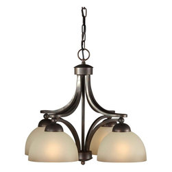 Talista - Talista Chandeliers 4-Light Antique Bronze Chandelier with Umber Glass Shade - Shop for Lighting & Ceiling Fans at The Home Depot. The Burton Collection supplied by CLI features a wide variety of classic fixtures. If you are looking for a sensible way to dress up a room there is no better choice than this 4-Light Chandelier in an Antique Bronze Finish complimented by Shaded Umber Glass. From the modest chandeliers to the more rustic outdoor lighting the Burton Collection will add a charming accent to any application.