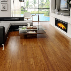 Contemporary Wood Flooring by Dasso Group