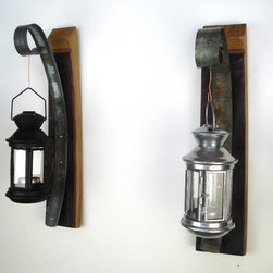 Wall Hanging Candle Holder with Lantern -
