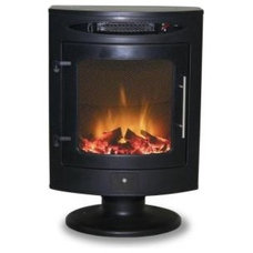 Mistral 400 sq. ft. Electric Stove-ES-207-BK at The Home Depot
