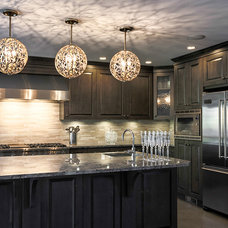 Contemporary Kitchen Island Lighting by Valley Light Gallery