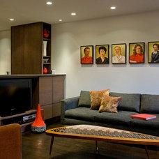 Modern Living Room by Village West Design