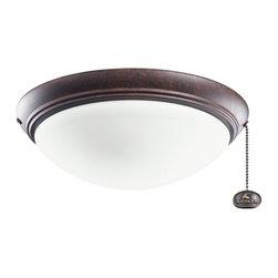 Kichler Lighting - Kichler Lighting Basic Low Profile 52-56 Ceiling Fan Light Kit X-ZT221083 - Kichler Lighting Basic Low Profile 52-56 Ceiling Fan Light Kit X-ZT221083